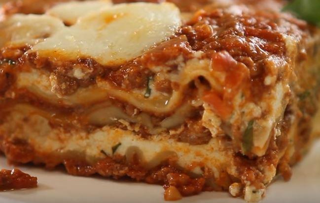 Three Cheese No Boil Lasagna