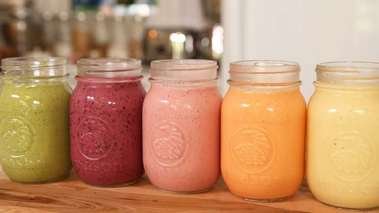 5 Healthy Breakfast Smoothies Recipes