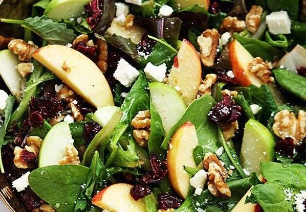 Maple Dressed Autumn Salad
