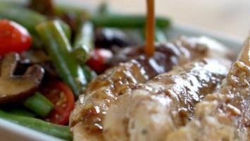 One Pan Balsamic Chicken Dinner