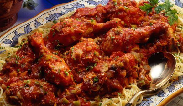 Savory Italian Chicken Cacciatore Recipe
