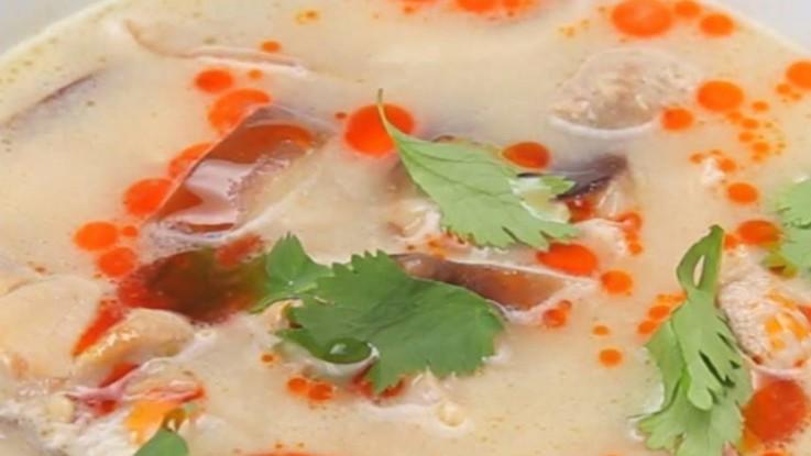 Chicken Coconut Soup Recipe