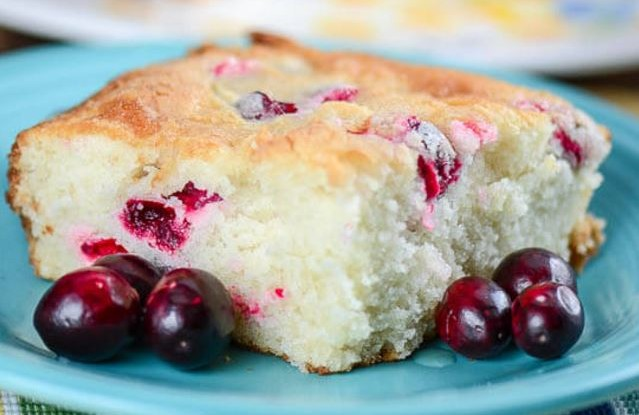 Holiday Cranberry Cake Recipe is absolutely DELICIOUS! This cake ...