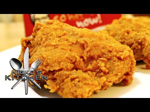 Who Doesnt Love The Crunchy Delicious Flavor Of Kentucky Fried Chicken I Found This Copycat KFC Recipe By Nicko On Youtube That Shows How To