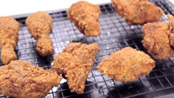 Extra Crunchy Fried Chicken
