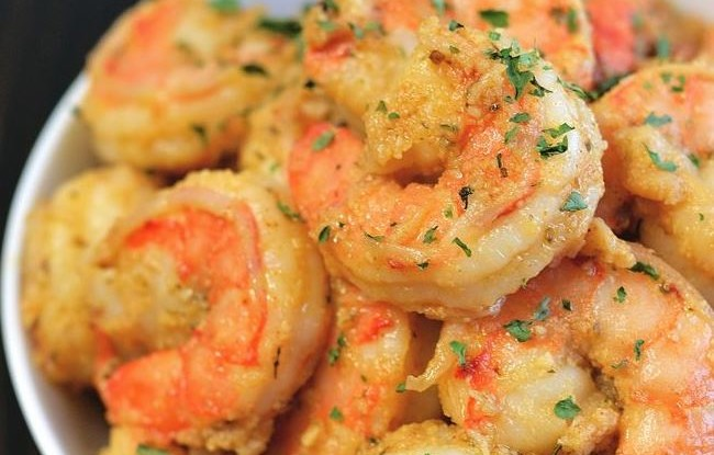 Classic Zesty Garlic Shrimp 4 Minute Skillet Recipe