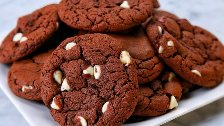 Double Fudge Irish Cream Cookies
