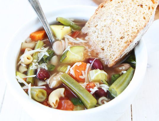 Crock Pot Minestrone Soup