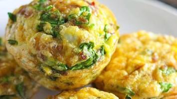 Omelette Breakfast Muffins Recipe