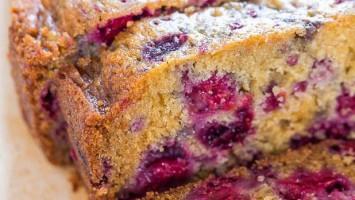 Raspberry Loaf Bread Recipe