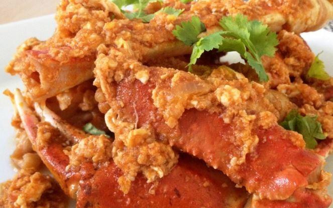 Spicy Singapore Chili Crab Claws Recipe