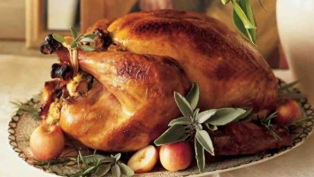 Roasted Stuffed Turkey Recipe