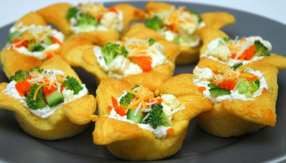 Veggie Pizza Bites Recipe